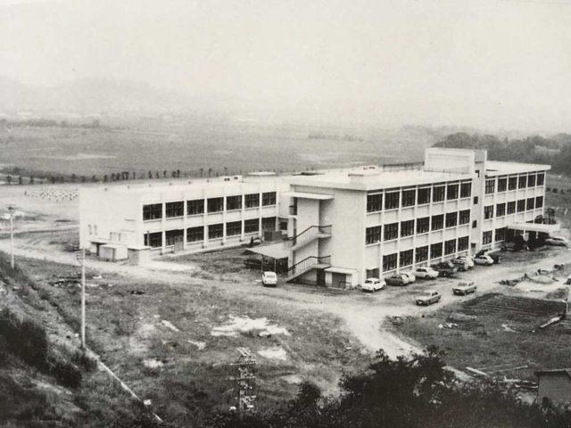 移転改築当時の写真