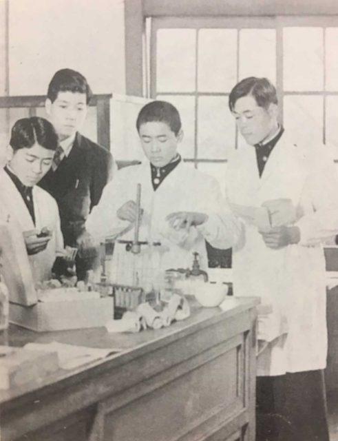昭和29年 化学部
