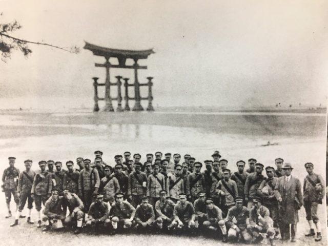 昭和初期の修学旅行