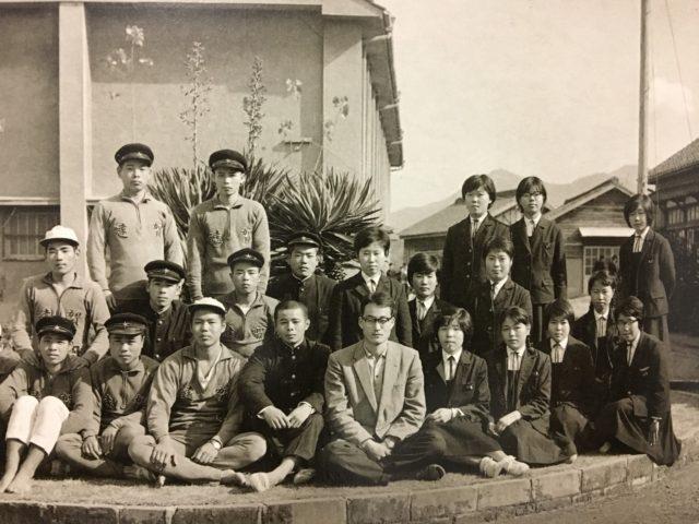 昭和39年 クラス集合写真